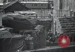 Image of US Army guarding supply ship in Siberia Soviet Russia World War 1 Siberia Soviet Union, 1918, second 38 stock footage video 65675060926