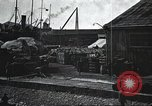 Image of US Army guarding supply ship in Siberia Soviet Russia World War 1 Siberia Soviet Union, 1918, second 41 stock footage video 65675060926