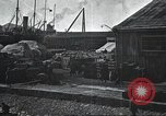 Image of US Army guarding supply ship in Siberia Soviet Russia World War 1 Siberia Soviet Union, 1918, second 42 stock footage video 65675060926