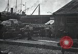 Image of US Army guarding supply ship in Siberia Soviet Russia World War 1 Siberia Soviet Union, 1918, second 43 stock footage video 65675060926