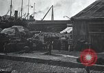 Image of US Army guarding supply ship in Siberia Soviet Russia World War 1 Siberia Soviet Union, 1918, second 44 stock footage video 65675060926
