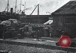 Image of US Army guarding supply ship in Siberia Soviet Russia World War 1 Siberia Soviet Union, 1918, second 46 stock footage video 65675060926