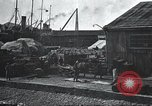 Image of US Army guarding supply ship in Siberia Soviet Russia World War 1 Siberia Soviet Union, 1918, second 47 stock footage video 65675060926