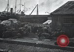 Image of US Army guarding supply ship in Siberia Soviet Russia World War 1 Siberia Soviet Union, 1918, second 49 stock footage video 65675060926
