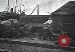 Image of US Army guarding supply ship in Siberia Soviet Russia World War 1 Siberia Soviet Union, 1918, second 50 stock footage video 65675060926