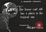 Image of streets of city Panama, 1919, second 26 stock footage video 65675060956