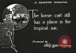 Image of streets of city Panama, 1919, second 29 stock footage video 65675060956