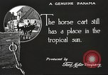 Image of streets of city Panama, 1919, second 34 stock footage video 65675060956