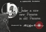 Image of streets of city Panama, 1919, second 44 stock footage video 65675060956