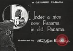 Image of streets of city Panama, 1919, second 45 stock footage video 65675060956