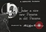 Image of streets of city Panama, 1919, second 51 stock footage video 65675060956