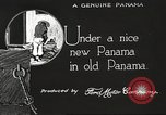 Image of streets of city Panama, 1919, second 52 stock footage video 65675060956