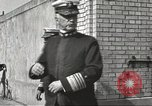 Image of British Navy officers visit US Naval Academy Annapolis Maryland USA, 1918, second 22 stock footage video 65675060987
