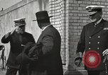 Image of British Navy officers visit US Naval Academy Annapolis Maryland USA, 1918, second 29 stock footage video 65675060987