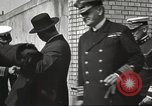 Image of British Navy officers visit US Naval Academy Annapolis Maryland USA, 1918, second 30 stock footage video 65675060987