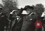 Image of British Navy officers visit US Naval Academy Annapolis Maryland USA, 1918, second 35 stock footage video 65675060987