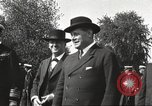 Image of British Navy officers visit US Naval Academy Annapolis Maryland USA, 1918, second 37 stock footage video 65675060987