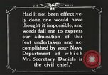 Image of Sir Eric Geddes and Admiral Duff Annapolis Maryland USA, 1918, second 38 stock footage video 65675060990