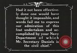 Image of Sir Eric Geddes and Admiral Duff Annapolis Maryland USA, 1918, second 39 stock footage video 65675060990