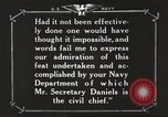 Image of Sir Eric Geddes and Admiral Duff Annapolis Maryland USA, 1918, second 45 stock footage video 65675060990