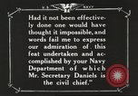 Image of Sir Eric Geddes and Admiral Duff Annapolis Maryland USA, 1918, second 46 stock footage video 65675060990