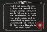 Image of Sir Eric Geddes and Admiral Duff Annapolis Maryland USA, 1918, second 47 stock footage video 65675060990