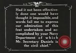 Image of Sir Eric Geddes and Admiral Duff Annapolis Maryland USA, 1918, second 50 stock footage video 65675060990