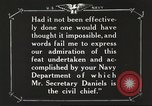 Image of Sir Eric Geddes and Admiral Duff Annapolis Maryland USA, 1918, second 61 stock footage video 65675060990