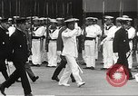 Image of Emperor Hirohito in naval uniform Yokohama Japan, 1934, second 21 stock footage video 65675061006