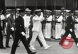 Image of Emperor Hirohito in naval uniform Yokohama Japan, 1934, second 23 stock footage video 65675061006