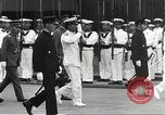 Image of Emperor Hirohito in naval uniform Yokohama Japan, 1934, second 24 stock footage video 65675061006