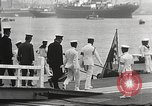 Image of Emperor Hirohito in naval uniform Yokohama Japan, 1934, second 33 stock footage video 65675061006