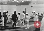 Image of Emperor Hirohito in naval uniform Yokohama Japan, 1934, second 34 stock footage video 65675061006