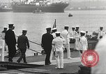 Image of Emperor Hirohito in naval uniform Yokohama Japan, 1934, second 35 stock footage video 65675061006
