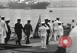 Image of Emperor Hirohito in naval uniform Yokohama Japan, 1934, second 36 stock footage video 65675061006