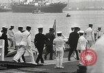 Image of Emperor Hirohito in naval uniform Yokohama Japan, 1934, second 37 stock footage video 65675061006