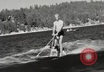 Image of Dog water skiing California United States USA, 1934, second 11 stock footage video 65675061011