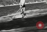 Image of Dog water skiing California United States USA, 1934, second 13 stock footage video 65675061011