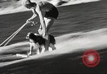 Image of Dog water skiing California United States USA, 1934, second 14 stock footage video 65675061011