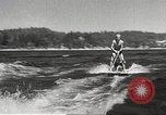 Image of Dog water skiing California United States USA, 1934, second 17 stock footage video 65675061011