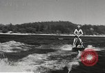 Image of Dog water skiing California United States USA, 1934, second 18 stock footage video 65675061011