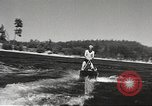 Image of Dog water skiing California United States USA, 1934, second 19 stock footage video 65675061011