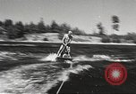 Image of Dog water skiing California United States USA, 1934, second 21 stock footage video 65675061011