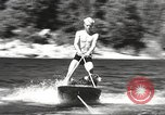 Image of Dog water skiing California United States USA, 1934, second 22 stock footage video 65675061011