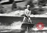 Image of Dog water skiing California United States USA, 1934, second 24 stock footage video 65675061011