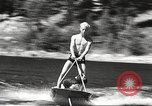 Image of Dog water skiing California United States USA, 1934, second 25 stock footage video 65675061011