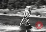 Image of Dog water skiing California United States USA, 1934, second 26 stock footage video 65675061011