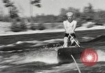 Image of Dog water skiing California United States USA, 1934, second 31 stock footage video 65675061011