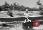 Image of Dog water skiing California United States USA, 1934, second 32 stock footage video 65675061011