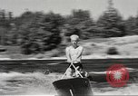 Image of Dog water skiing California United States USA, 1934, second 33 stock footage video 65675061011